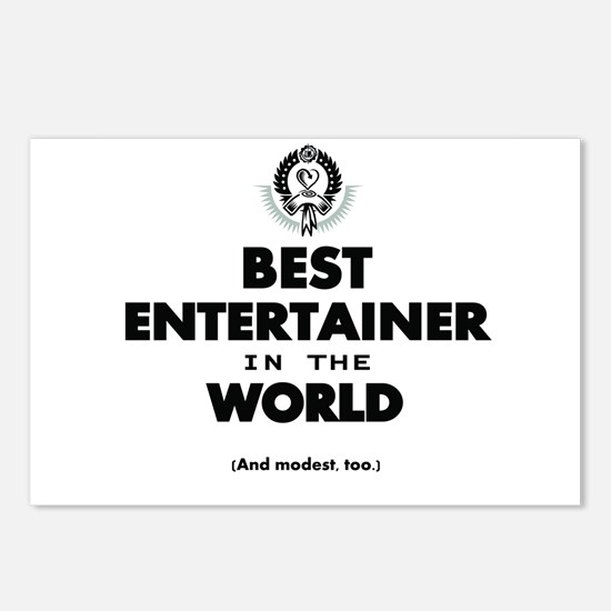Best Entertainer in the World Postcards (Package o