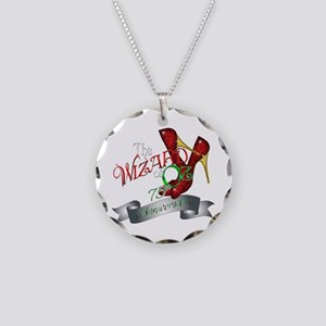 75th Anniversary Wizard of Oz Ruby Slippers Neckla