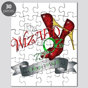 75th Anniversary Wizard of Oz Ruby Slippers Puzzle