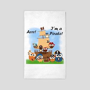 Arrr Im a Pirate 3'x5' Area Rug