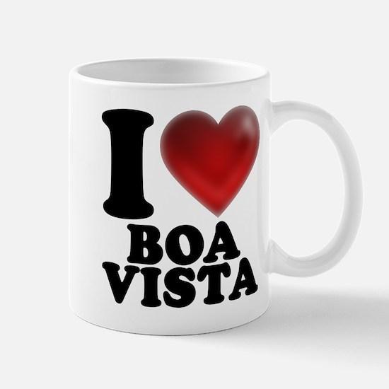 I Heart Boa Vista Mugs