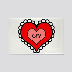 GFY Heart Magnets