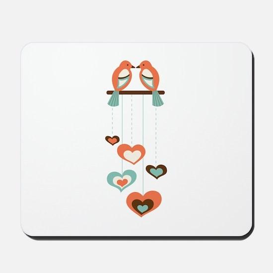 Love Bird Chime Mousepad