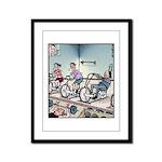Gym exercise Easy Rider Framed Panel Print