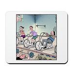 Gym exercise Easy Rider Mousepad