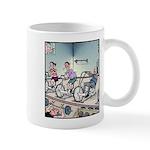 Gym exercise Easy Rider Mugs