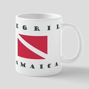 Negril Jamaica Scuba Mugs