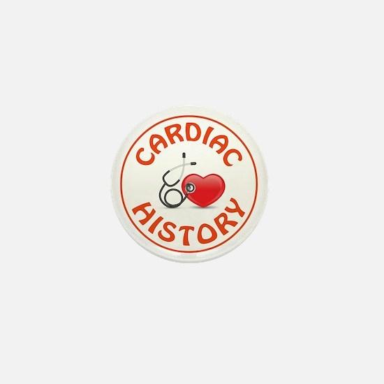 CARDIAC HISTORY Mini Button