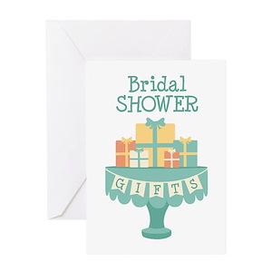 Bridal shower greeting cards cafepress m4hsunfo