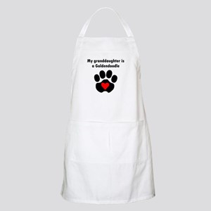 My Granddaughter Is A Goldendoodle Apron