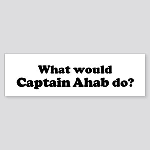 Captain Ahab Bumper Sticker