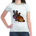 World's Best Buns Jr. Ringer T-Shirt