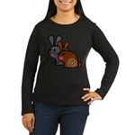 World's Best Buns Women's Long Sleeve Dark T-Shirt