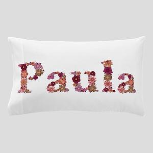 Paula Pink Flowers Pillow Case