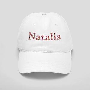 Natalia Pink Flowers Baseball Cap