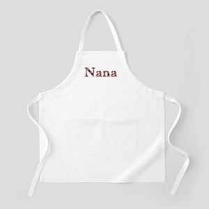 Nana Pink Flowers Apron