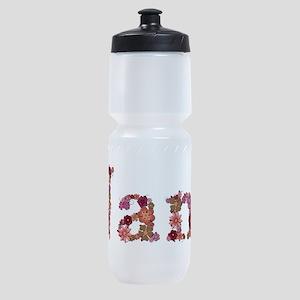 Nana Pink Flowers Sports Bottle