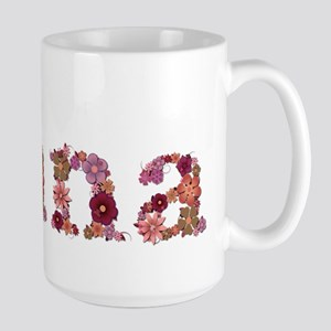 Nana Pink Flowers Mugs