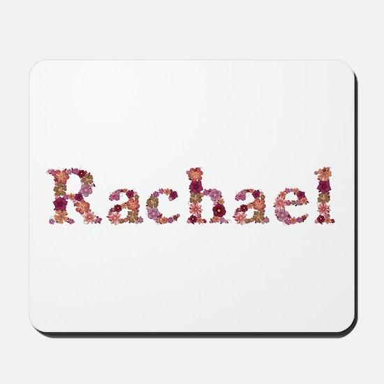 Rachael Pink Flowers Mousepad