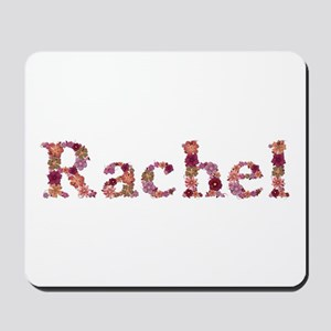 Rachel Pink Flowers Mousepad