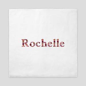 Rochelle Pink Flowers Queen Duvet