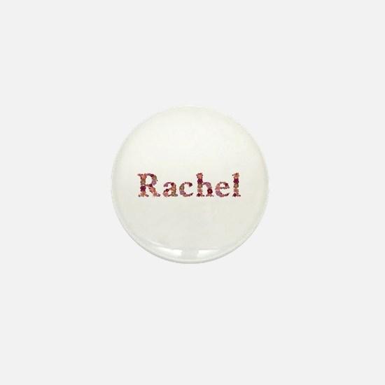 Rachel Pink Flowers Mini Button