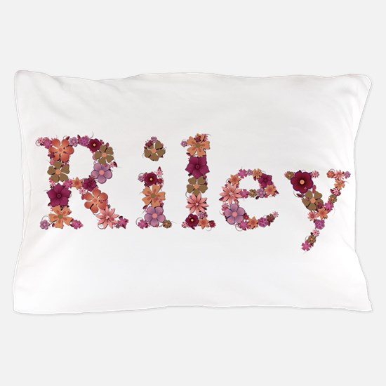 Riley Pink Flowers Pillow Case