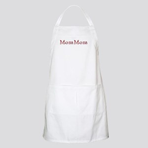Mommom Pink Flowers Apron