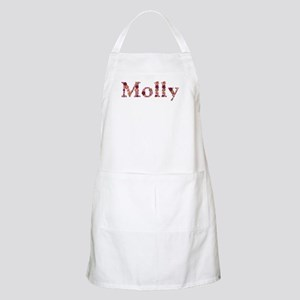 Molly Pink Flowers Apron
