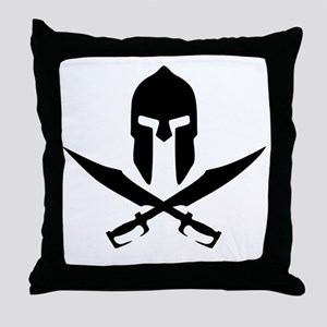 sparta Throw Pillow