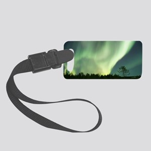 Northern Lights Small Luggage Tag