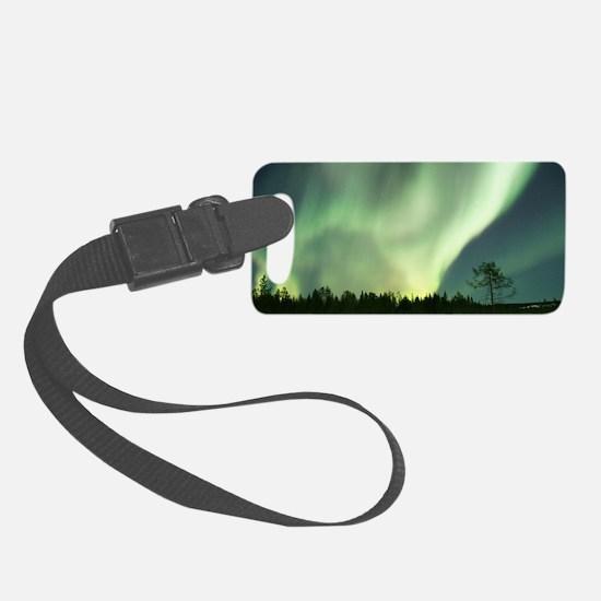 Northern Lights Luggage Tag