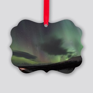 Northern Lights Picture Ornament