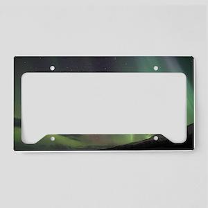 Northern Lights License Plate Holder