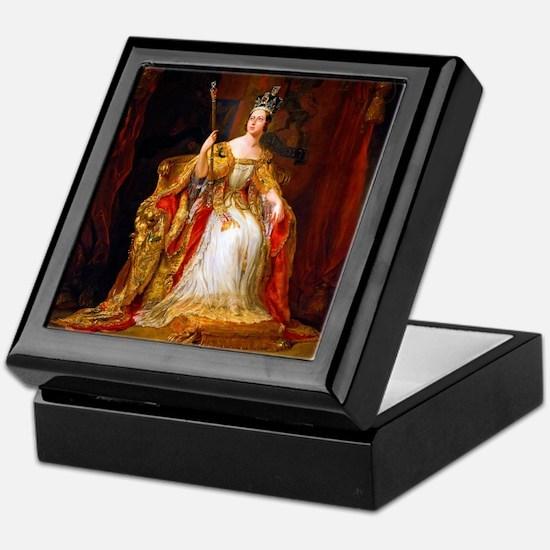 Queen Victoria Keepsake Box