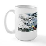 Hour 21 At Daytona Speed Race Large Mug