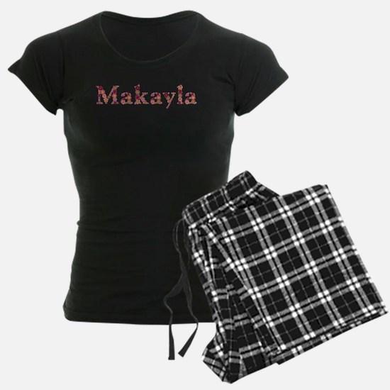 Makayla Pink Flowers Pajamas