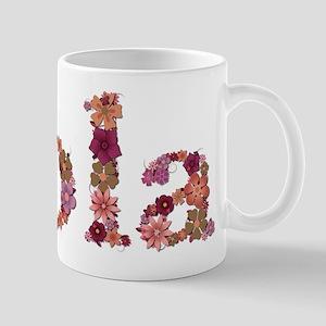 Lola Pink Flowers Mugs