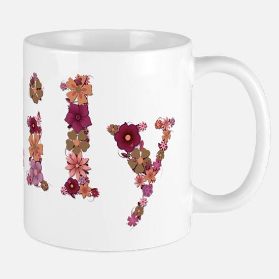 Lily Pink Flowers Mugs