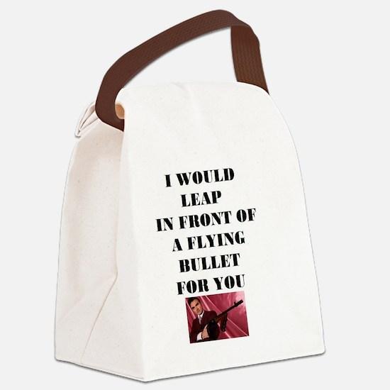 Morrissey Bullet Canvas Lunch Bag