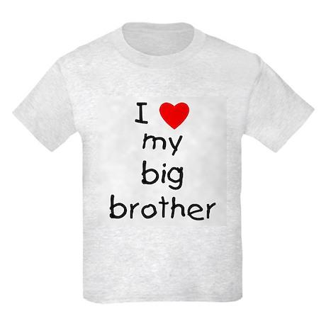 I love my big brother Kids Light T-Shirt