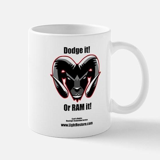 Dodge it! Mugs