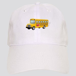 School Bus Baseball Cap