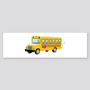 School Bus Bumper Sticker
