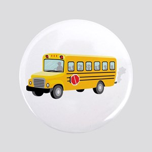 "School Bus 3.5"" Button"