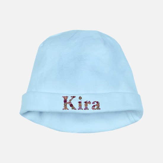 Kira Pink Flowers baby hat