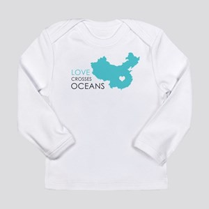Love Crosses Oceans Long Sleeve T-Shirt