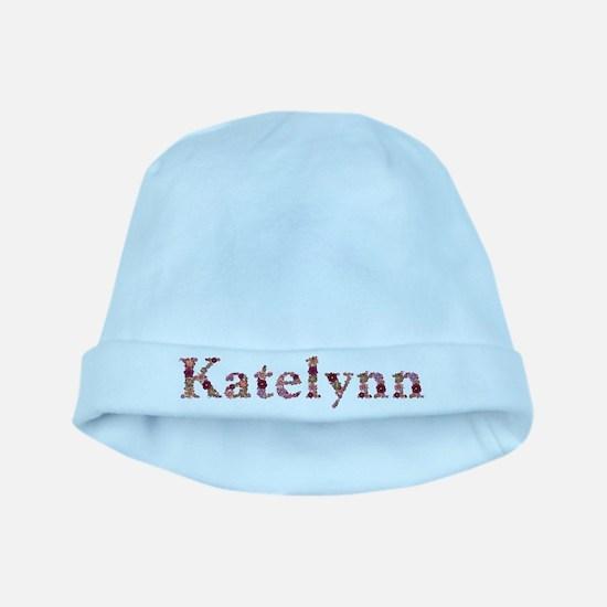 Katelynn Pink Flowers baby hat