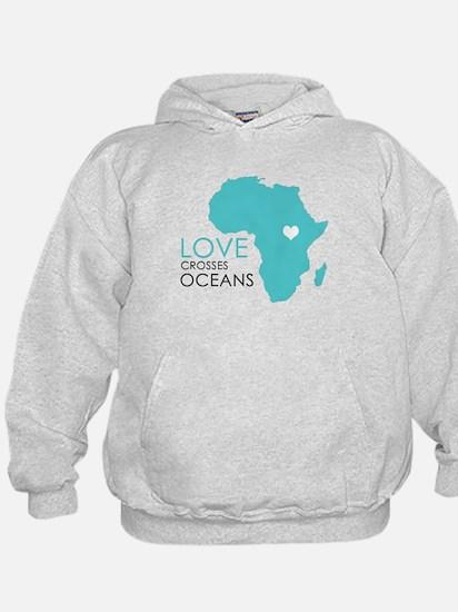 Love Crosses Oceans Hoodie