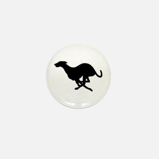 Greyhound Mini Button